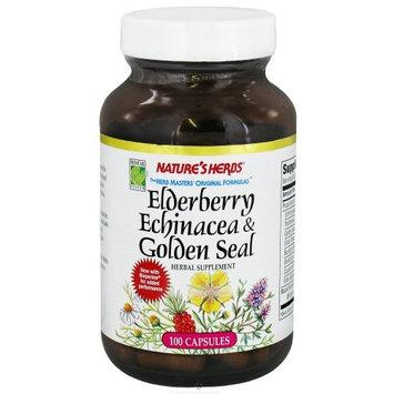 Nature's Herbs Natures Herbs Elderberry Echinacea-Golden Seal 100 Capsules