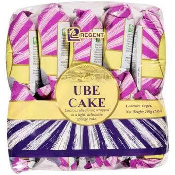 Jfc International Inc. Regent: Ube Sponge Cake, 10 ct