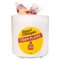 Smart & Simple Foam Plates