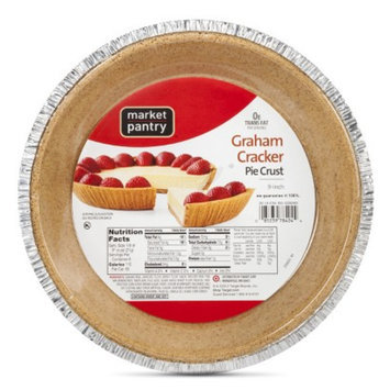 market pantry Market Pantry Graham Cracker Crust Pie Crust 6-oz.