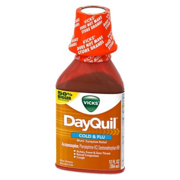 Vicks Dayquil Multisymptom Cold & Flu Relief