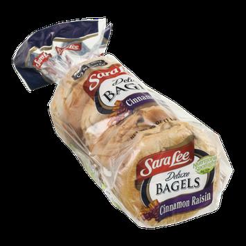 Sara Lee Deluxe Bagels Cinnamon Raisin - 6 CT