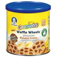 Gerber Graduates Waffle Wheels Puffed Grain Snack