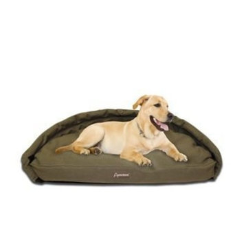 ABO Gear Abo Adelaide Large Home Bed for Pet Cotton Canvas - Olive - 20606