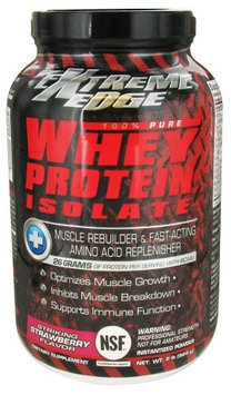 Extreme Edge - Whey Protein Isolate Striking Strawberry - 2 lbs.