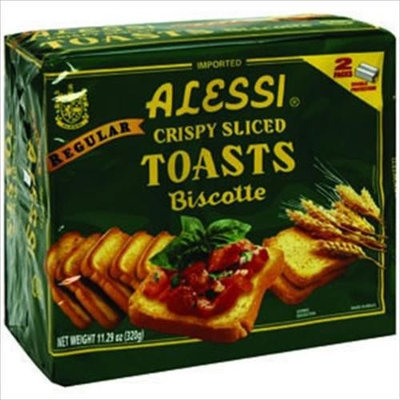 Alessi Crispy Toast Regular 11-Ounce -Pack of 12