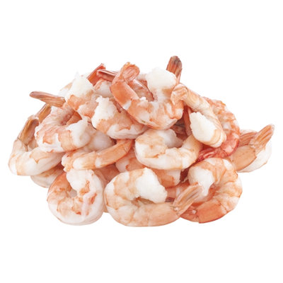 Ahold Cooked Shrimp Extra Large Tail On