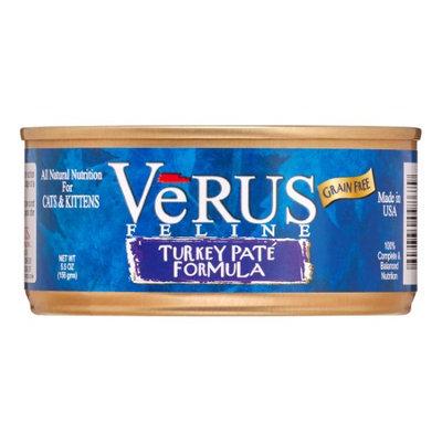 Verus Grain Free Turkey Pate Canned Wet Cat Food (5.5 oz.) (Set of 24)