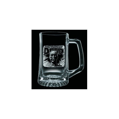 Global Holdings Inc Walking Dead: Dead Head Etched Glass Stein