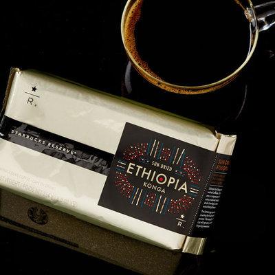 Starbucks Reserve Ethiopia Konga Coffee