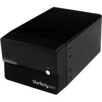 StarTech S3520BU33ER Black 2-Bay RAID Enclosure with UASP
