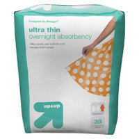 up & up up&up Overnight Ultra Thin Maxi Pads with Wings - 38 Count