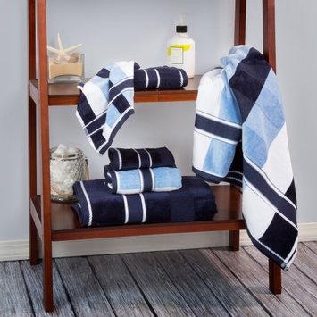 Lavish Home Oakville 100% Cotton 6 Piece Towel Set Color: Navy