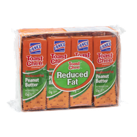 Lance Toast Chee Reduced Fat Peanut Butter Crackers - 8 CT