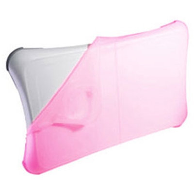 Skque Silicone Skin Case for Nintendo Wii Fit, Pink
