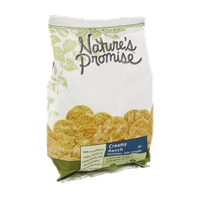 Nature's Promise Naturals Creamy Ranch Natural Soy Crisps
