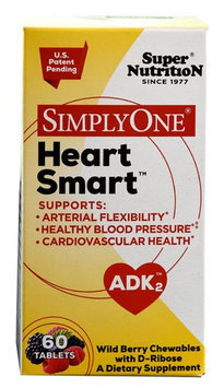 Super Nutrition SimplyOne Heart Smart Wild Berry 60 Tablets