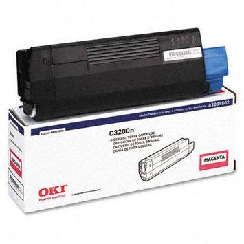 Okidata Corporation 43034802 Toner Cartridge, Magenta - OKIDATA