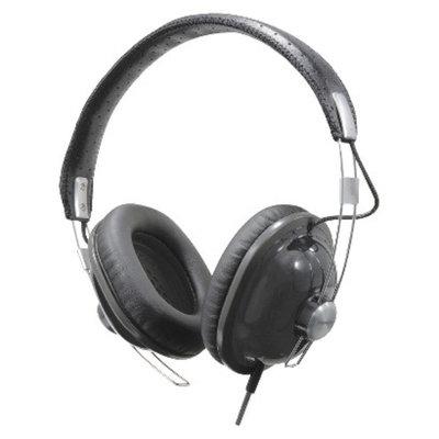 Panasonic RetroStyle Monitor On-the-Ear Headphones - Black (RP-HTX7-