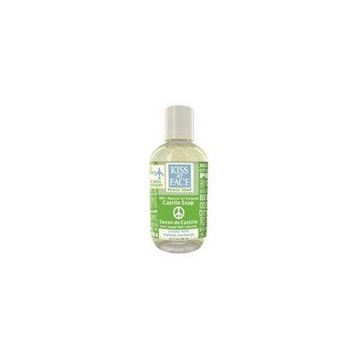 Kiss My Face Liquid Peace Soap: Grassy Mint; 3.4oz Bottle