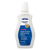 Equate Lustrous White Clean Mint Multi-Action Whitening Rinse, 32 fl oz