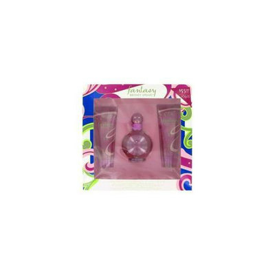 Britney Spears Gift Set -- 3. 3 oz Eau De Parfum Spray + 3. 3 oz Body Souffle + 3. 3 oz Shower Gel
