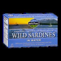 Wild Planet Wild Sardines in Water