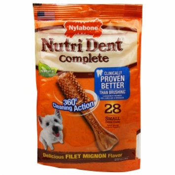 Tfh Publications Nutri Dent Dental Dog Chews Filet Mignon Small