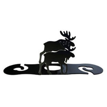 Village Wrought Iron WRC-19 Moose Wine Caddy