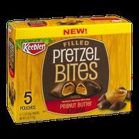 Keebler Filled Pretzel Bites Peanut Butter & Fudge - 5 CT