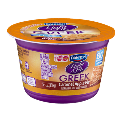 Dannon® Light & Fit® Caramel Apple Pie Non-Fat Yogurt