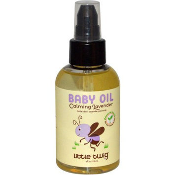 Little Twig Calming Lavender Baby Oil, 4 fl oz