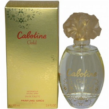 Gres Cabotine Gold Eau de Toilette Spray, 3.4 fl oz