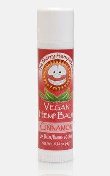 Merry Hempsters, Organic Hemp Lip Balm Cinnamon .14 oz