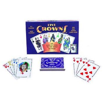 SET Enterprises Five Crowns Card Game Ages 8+, 1 ea
