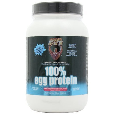 Healthy N' Fit Healthy 'n Fit 100% Egg Protein 2-pound Bottle Strawberry, Tub