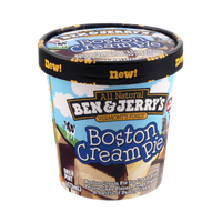 Ben & Jerry's Boston Cream Pie Ice Cream 16 oz