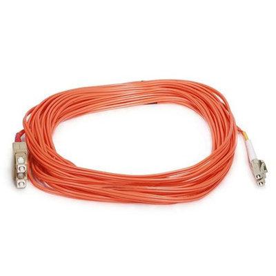 Monoprice Fiber Optic Cable, LC/SC, OM1, Multi Mode, Duplex - 10 meter (62.5/125 Type) - Orange
