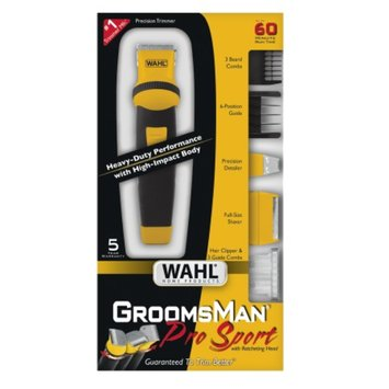 Wahl GroomsMan Pro Sport Precision Clipper/Trimmer Grooming Kit