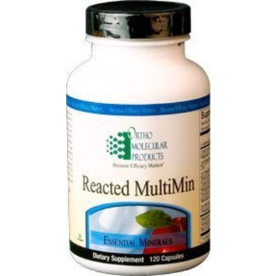 Ortho Molecular Products, Reacted MultiMin 120 Capsules