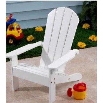 Adams Mfg Corp White Kids Adirondack Chair 8460-48-3731