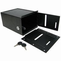 Trademark Global Games Trademark Poker Black Steel Toke Box with Lock - Under Table mount
