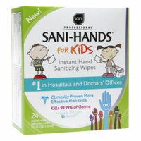 Sani Hands Kids Instant Hand Sanitizing Wipes