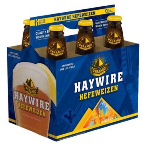 Pyramid Ale Wheat Hefeweizen Haywire