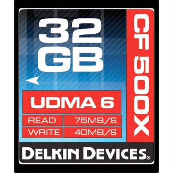 Delkin Devices DDCF500-32GB UDMA 6 32GB CompactFlash Memory Card