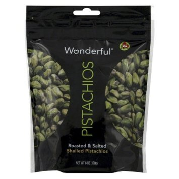 Wonderful Pistachios Wonderful Roasted & Salted Shelled Pistachios 6 oz