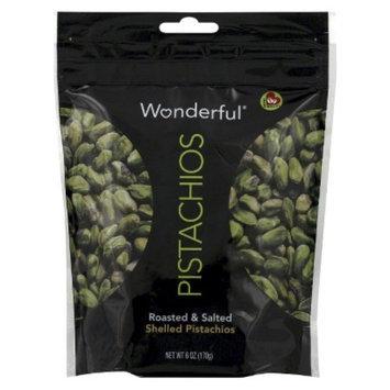 Wonderful Pistachios Wonderful Roasted & Salted Shelled Pistachios 6 oz