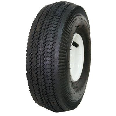 David Shaw Silverware Na Ltd HI-RUN Wheelbarrow Tire & Wheel 4.10/3.50 4 Sawtooth - David Shaw Silverware NA LTD