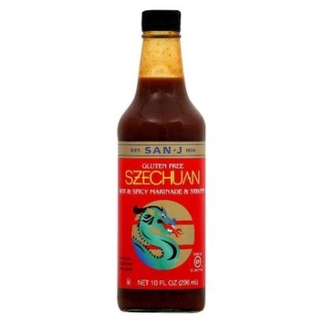 San-J International Inc. San-J Gluten Free Hot & Spicy Marinade & Stir-Fry Szechuan Sauce 10-
