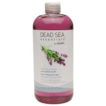Ahava North America Dead Sea Essentials by AHAVA Calming Lavender Spa Bubble Bath &
